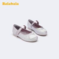 巴拉巴拉官方童鞋�和�皮鞋女童公主鞋中大童2020新款洋�馀�小童潮