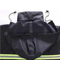 摩托车电动车分身雨衣雨裤套装 分体双层户外套装 可印字logo 藏青