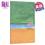 【中商原版】洛克 英文原版 人物传记 牛津通识读本 Locke John Dunn OUP Oxford
