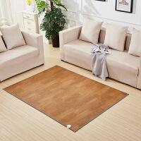 20191106200506519碳晶电热地暖垫电热暖脚垫雪尼尔电热地毯移动地暖垫电热