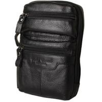 胸包6寸7寸8寸手机平板牛皮男潮包斜挎休闲腰包运动腰包