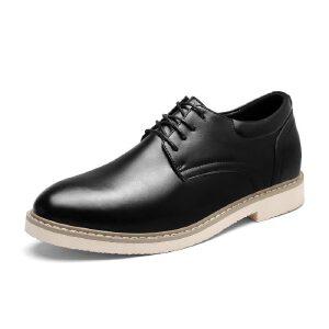 罗兰船长  潮流休闲皮鞋 黑色 41D