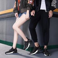 时尚男女大气垫透气网面跑步鞋鞋情侣款潮流休闲跑步运动鞋