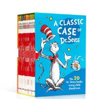 英文原版 苏斯博士20本故事童书全套 A Classic Case of Dr Seuss 廖彩杏推荐