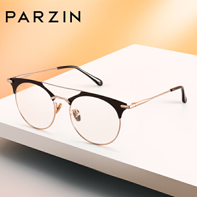 帕森时尚眼镜架 男女半框金属个性文艺眼镜框 可配近视 15715