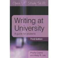 【预订】Writing at University: A Guide for Students