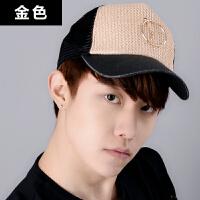 帽子棒球帽休闲户外运动太阳帽韩版春秋男女士夏韩版潮时尚鸭舌帽