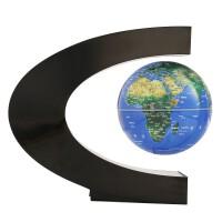 磁悬浮地球仪C型发光悬空自转创意礼品办公桌装饰品家居书房摆件