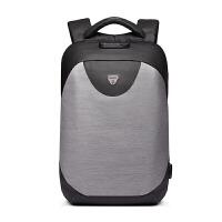 男士双肩包电脑包15.6寸商务背包男女休闲旅行防水书包大学生