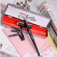 德国Rotring红环Artpen 美术钢笔 艺术钢笔 速写钢笔 铁盒装