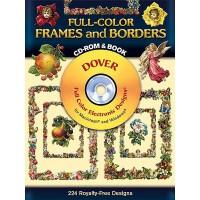 【预订】Full-Color Frames and Borders [With CDROM]