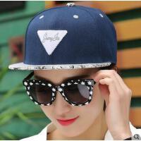 嘻哈帽男网红同款时尚韩版潮户外街舞平沿帽 韩国女士遮阳鸭舌棒球帽子户外运动新品