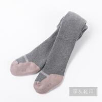 女童秋纯棉儿童毛圈加厚连裤袜儿童宝宝打底裤婴儿袜子舞蹈袜