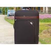 商务拉杆箱万向轮男20寸帆布登机旅行箱女24寸双袋行李箱密码箱子