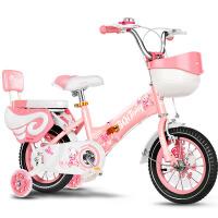 儿童自行车女孩2-3-5-6-7-9-10岁宝宝脚踏单车女童公主款小孩童车
