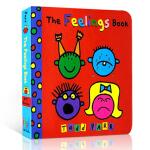 【中商原版】The Feelings Book 英文原版 感觉书 了解你自己纸板书情感表达启蒙入门