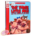 【中商原版】The Three Little Pigs 三只小猪 学乐角色扮演互动书