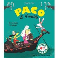 【现货】法语原版 帕克与维瓦尔第:16首歌曲 Paco et Vivaldi: 16 musiques à écout