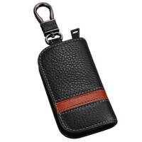 钥匙包男士 汽车钥匙包通用款拉链零钱包腰挂