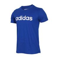 Adidas阿迪达斯 男装 2018新款NEO运动休闲生活短袖T恤 CV9320