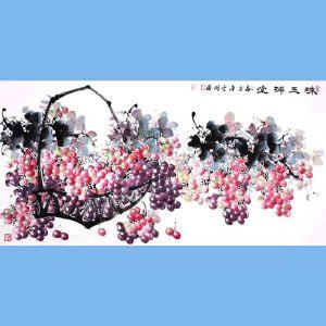 中国青年美术家协会常务理事,中国山水画院专业画家,山东省美术家协会会员,国家一级美术师高云鹏(珠玉满堂)9