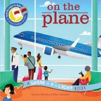 英文原版 光影魔术书:飞机 Shine-a-Light: On the Plane