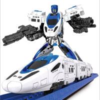�形玩具金��5和�C��C器人高�F小火�套�b汽����榆�道�男孩