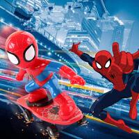 复仇者联盟蜘蛛侠变形遥控车遥控汽车模型充电动赛车男孩儿童玩具