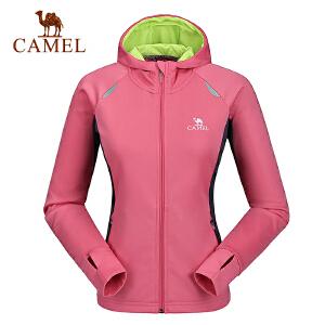 camel骆驼户外跑步运动外套 女款时尚外套