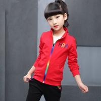 女童秋装套装 2018新款韩版5中大童装6春秋7长袖8儿童9运动两件套