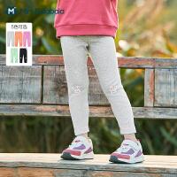 迷你巴拉巴拉女童弹力打底裤2021春新款裙子棉弹舒适百搭裤子柔软