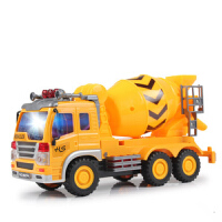 工程车玩具套装模型搅拌车男孩儿童汽车礼物