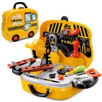 儿童工具箱玩具套装维修宝宝修理工具台螺丝刀3-4-56岁男孩子宝宝