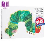 【中商原版】好饿的 饥饿的毛毛虫 绘本洞洞书0-3岁撕不烂The Very Hungry Caterpillar英语启