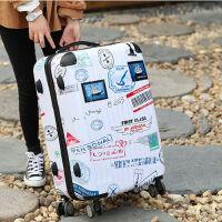 铝框拉杆箱万向轮男个性行李箱24寸学生小清新韩版旅行箱女20寸潮