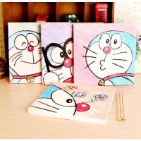 哆啦A梦 蓝胖子 涂鸦本学生文具韩国创意美术画画本子 空白绘画本
