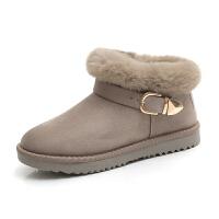 2018冬季新款韩版学生雪地靴女短筒靴子女短靴加绒百搭保暖棉鞋潮