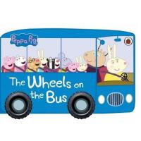 英文原版 Peppa Pig The Wheels on the Bus 粉红猪小妹 带车轮子