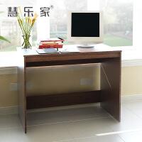 慧乐家家用办公简易电脑书桌写字多用桌 笔记本一体机电脑桌11080