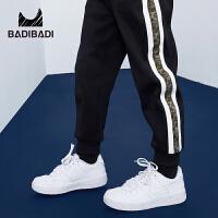 【3件2折:49.8】巴拉巴拉旗下 巴帝巴帝儿童童装男童加绒运动长裤2018冬新款