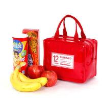 时尚皮质保温包 保温袋 饭盒便当包冷藏包保鲜包小拎包野餐包