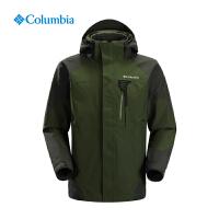 Columbia哥伦比亚户外男士防水热反射三合一冲锋衣PM7643