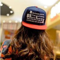 帽子 嘻哈帽 棒球帽 韩版帽子女嘻哈街舞棒球帽休闲遮阳防晒帽男士平沿檐帽滑板帽子潮