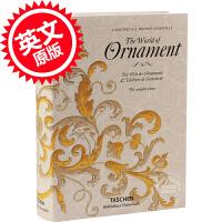 现货 英文原版 The World of Ornament 19世纪装饰大全 装饰设计 汇集 Taschen 塔森