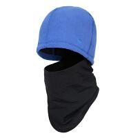 户外多功能抓绒帽 男女冬季防风护脸护耳骑行头套帽围脖保暖帽子