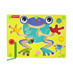 【当当自营】费雪 Fisher Price 磁性运笔迷宫青蛙 平衡滚珠走珠磁力儿童益智木制早教玩具 FP3002