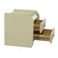 一米阳光 卧室床头柜 现代简约皮艺床边柜 欧式收纳储物柜聚 图片色 整装