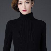 秋冬尚新 冬季新款高领毛衣女士套头修身显瘦羊毛打底衫加厚保暖针织羊绒衫
