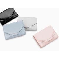 女士钱包2018款迷你零钱包可爱糖果色学生卡包翻盖硬币