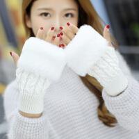 帽子女冬季时尚韩版学生毛线帽加厚护耳冬帽潮可爱帽子围脖两件套